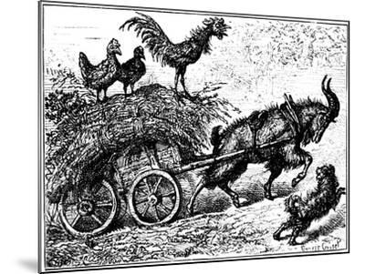 Illustration from the Children's Book Little Bo-Peep, C1880-Ernest Henry Griset-Mounted Giclee Print