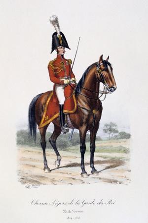 Chevau-Légers De La Garde Du Roi, Petite Tenue, 1814-15-Eugene Titeux-Framed Giclee Print