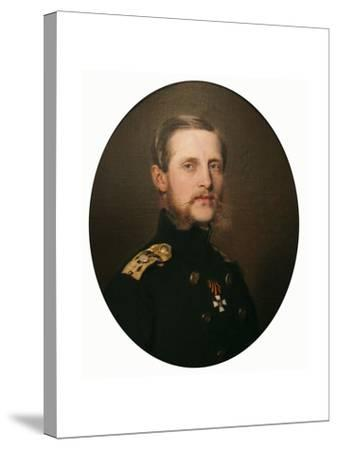 Portrait of the Grand Duke Konstantin Nikolaevich, 1859-Franz Xaver Winterhalter-Stretched Canvas Print