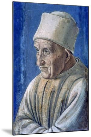 Portrait of an Old Man, 1485-Filippino Lippi-Mounted Giclee Print