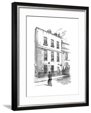 Sir Isaac Newton's House, St Martins Street, London, 1912-Frederick Adcock-Framed Giclee Print