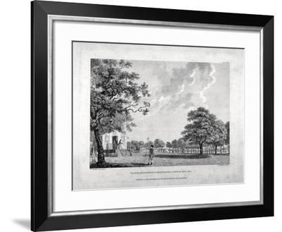 Army Camp in Hyde Park, London, 1780-Francis Chesham-Framed Giclee Print