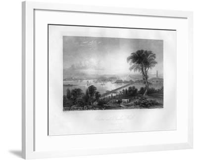 Boston and Bunker Hill, Massachusetts, 1855-FO Freeman-Framed Giclee Print