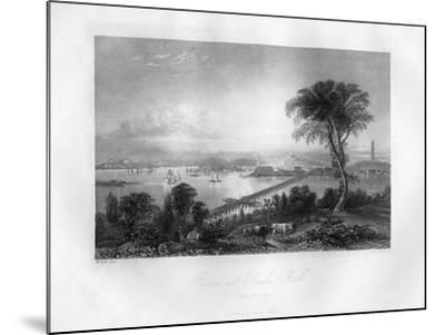 Boston and Bunker Hill, Massachusetts, 1855-FO Freeman-Mounted Giclee Print