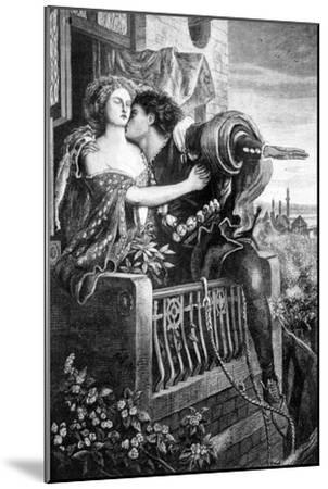 Scene from Shakespeare's Romeo and Juliet, C1860S-Ford Madox Brown-Mounted Giclee Print