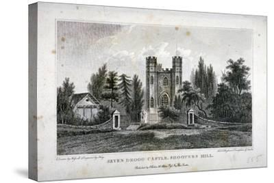 Severndroog Castle, Shooter's Hill, Woolwich, Kent, 1808-FR Hay-Stretched Canvas Print