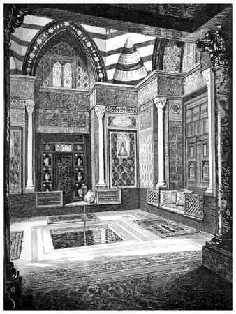 The Arab Hall, C1880-1882-Frederic Leighton-Premium Giclee Print