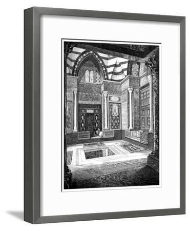 The Arab Hall, C1880-1882-Frederic Leighton-Framed Giclee Print