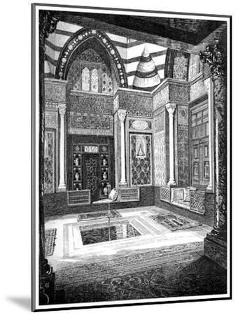 The Arab Hall, C1880-1882-Frederic Leighton-Mounted Giclee Print