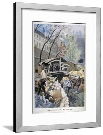 Labour in Paris, 1899-F Meaulle-Framed Giclee Print
