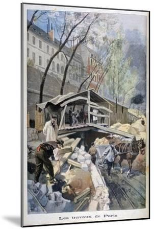 Labour in Paris, 1899-F Meaulle-Mounted Giclee Print
