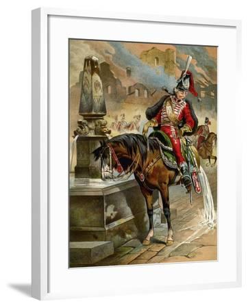 Book Illustration, 1896-Franz Gottfried-Framed Giclee Print