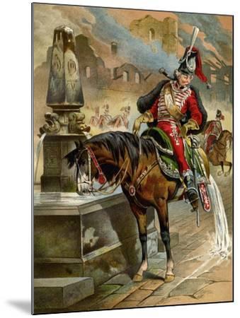 Book Illustration, 1896-Franz Gottfried-Mounted Giclee Print