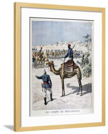 Mehariste Corps, 1894-Frederic Lix-Framed Giclee Print
