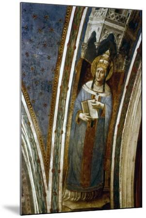 St Gregory, Mid 15th Century-Fra Angelico-Mounted Giclee Print