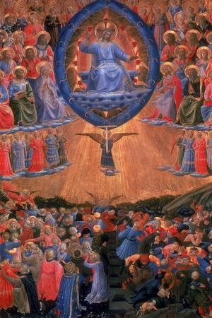 The Last Judgement, C1420-1455-Fra Angelico-Stretched Canvas Print