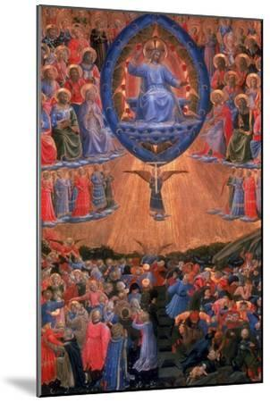 The Last Judgement, C1420-1455-Fra Angelico-Mounted Giclee Print