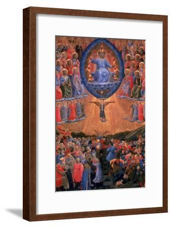 The Last Judgement, C1420-1455-Fra Angelico-Framed Giclee Print