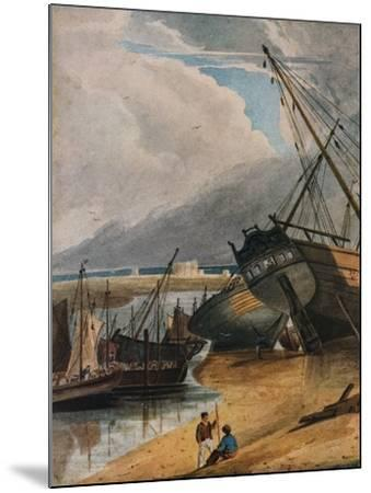 Shipping at Deal, 1925-Francois Louis Thomas Francia-Mounted Giclee Print
