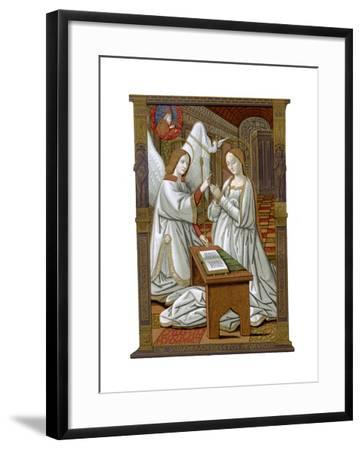 The Annunciation, C1503-Franz Kellerhoven-Framed Giclee Print