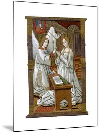 The Annunciation, C1503-Franz Kellerhoven-Mounted Giclee Print