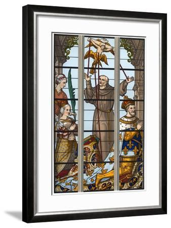 Francis I and Eleonore at their Devotions, 1515-1547-Franz Kellerhoven-Framed Giclee Print