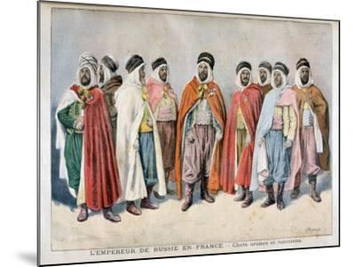 Arab and Tunisian Chiefs, 1896-Frederic Lix-Mounted Giclee Print