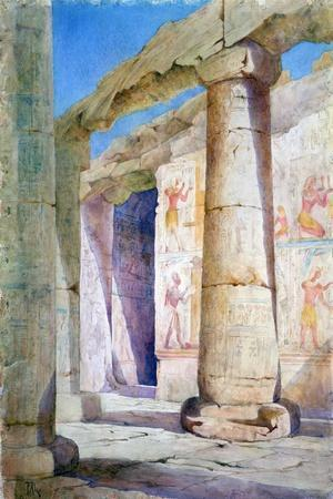 Egypt, 19th Century-Frances Anne Lee-Stretched Canvas Print