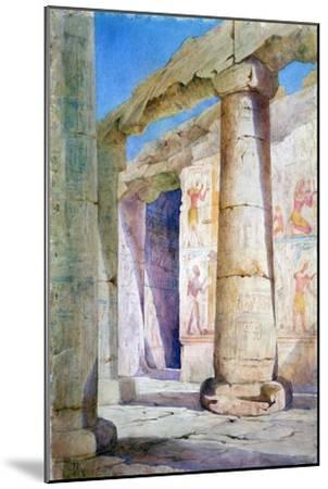 Egypt, 19th Century-Frances Anne Lee-Mounted Giclee Print
