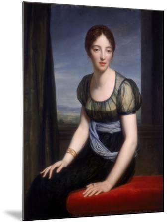 Portrait of Madame Regnault De Saint-Jean D'Angely, 1798-Francois Pascal Simon Gerard-Mounted Giclee Print
