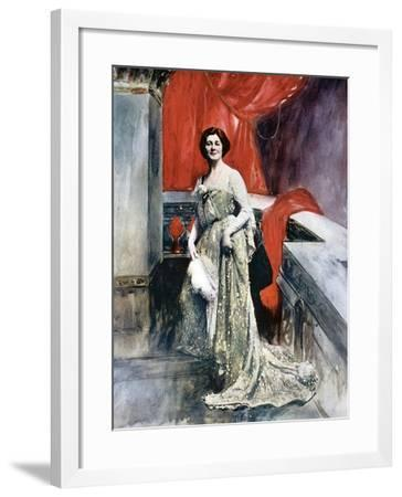 Miriam Clements, Stage Actress, C1902-Fellows Wilson-Framed Giclee Print