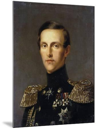 Portrait of Grand Duke Konstantin Nikolayevich of Russia, (1827-189), C1850-Franz Kruguer-Mounted Giclee Print