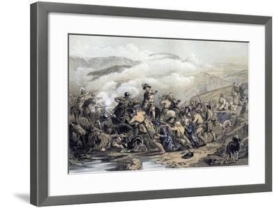 The Battle of Drumclog, 1679-George Harvey-Framed Giclee Print