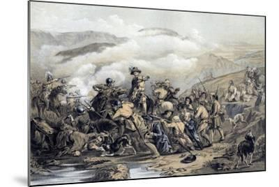 The Battle of Drumclog, 1679-George Harvey-Mounted Giclee Print