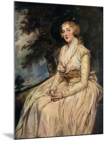 Charlotte, Lady Milnes 18th Century-George Romney-Mounted Giclee Print