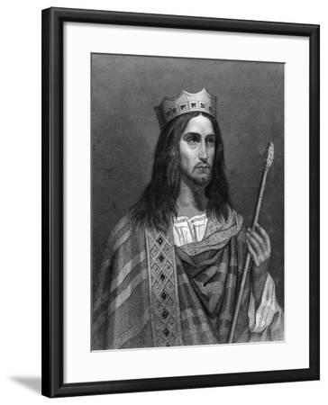 Clovis Ii, King of Neustria and Burgundy-G Levy-Framed Giclee Print