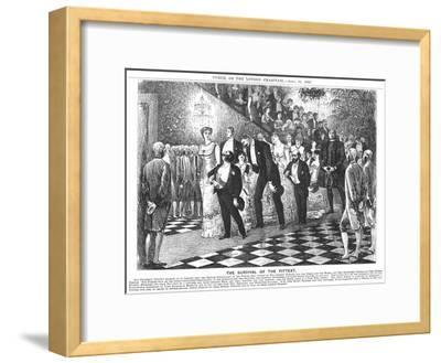The Survival of the Fittest'; Application of Darwinism in the 21st Century, 1880-George Du Maurier-Framed Giclee Print