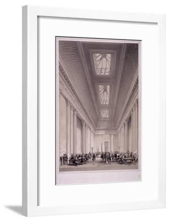 Hall of Commerce, Threadneedle Street, London, C1850-George Hawkins-Framed Giclee Print