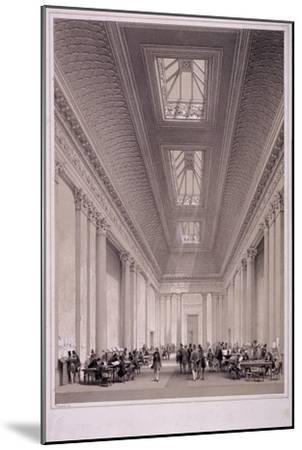 Hall of Commerce, Threadneedle Street, London, C1850-George Hawkins-Mounted Giclee Print