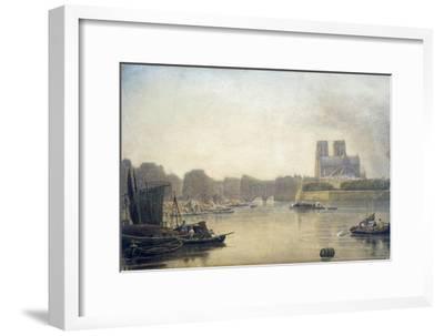 Notre Dame, Paris, 19th Century-Frederick Nash-Framed Giclee Print