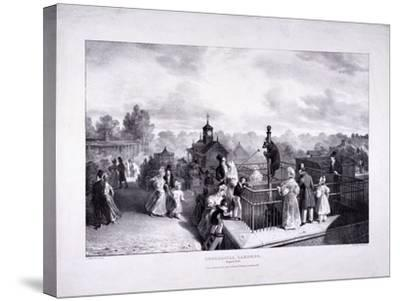 Zoological Gardens, Regent's Park, Marylebone, London, 1835-George Scharf-Stretched Canvas Print