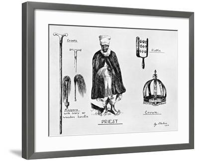 Insignia of Priesthood, 1912-G Schulein-Framed Giclee Print