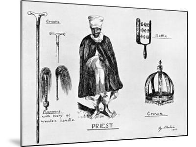 Insignia of Priesthood, 1912-G Schulein-Mounted Giclee Print