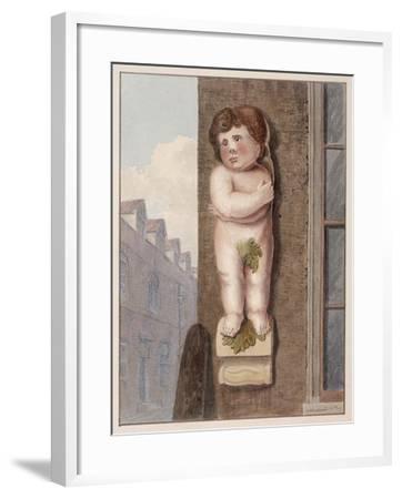 Pye Corner, London, 1812-George Shepheard-Framed Giclee Print