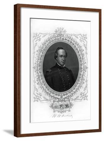 General Henry Wager Halleck, Senior Union Army Commander, 1862-1867-G Stodart-Framed Giclee Print