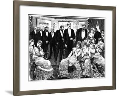 Disastrous Result of Beautymania, 1879-George Du Maurier-Framed Giclee Print