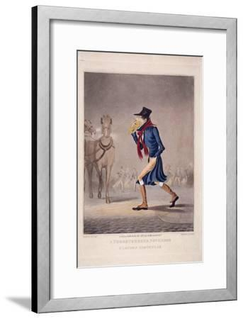 A Thoroughbred November and London Particular, 1827-George Hunt-Framed Giclee Print