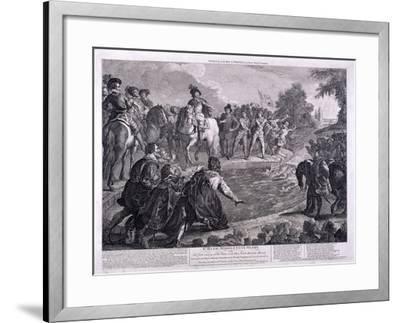 New River Head, Finsbury, London, C1740-George Bickham-Framed Giclee Print