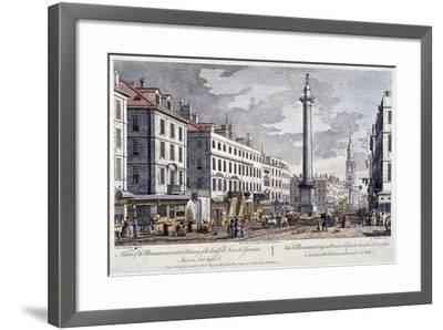 Monument, London, 1794-George Bickham-Framed Giclee Print