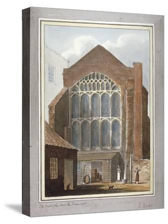 Southwark Cathedral, London, 1825-G Yates-Stretched Canvas Print